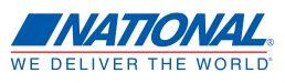 National-We Deliver the World logo